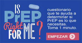take a web survey to determine if prep is for you.
